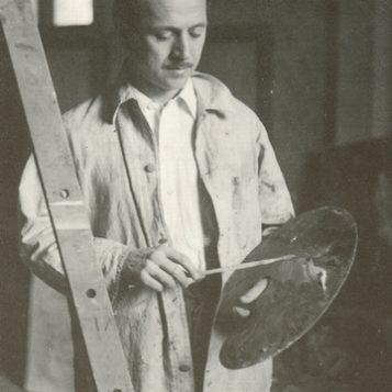 Oscar di Prata - 1939 - Nello studio