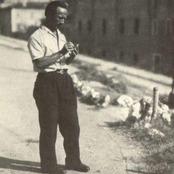 Oscar di Prata - 1940 - Mentre prende appunti