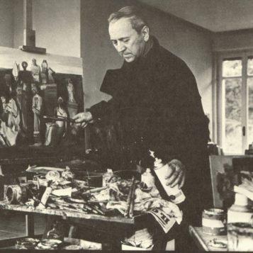 Oscar di Prata - 1949 - Mentre dipinge