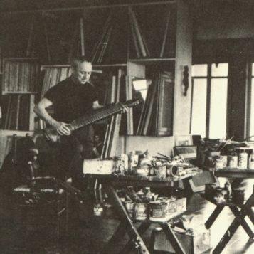 Oscar di Prata - 1949 - Nello studio