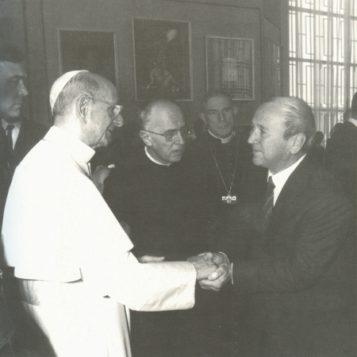 Oscar di Prata - 1977 - Con S.S. Paolo VI