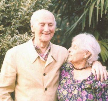 Oscar di Prata - 2004 - Con la moglie Eros